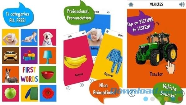Ứng dụng phát triển trí tuệ cho trẻ em