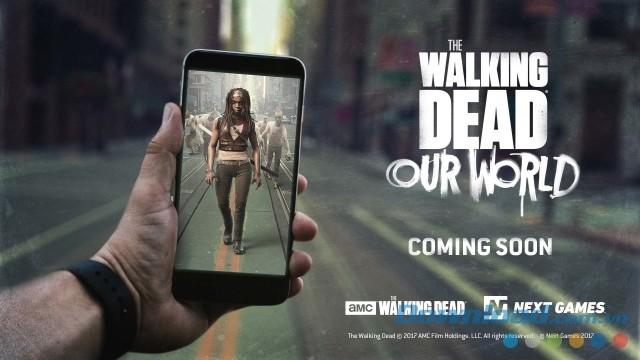 Walking Dead: Our World AR tích hợp công nghệ thực tế tăng cường