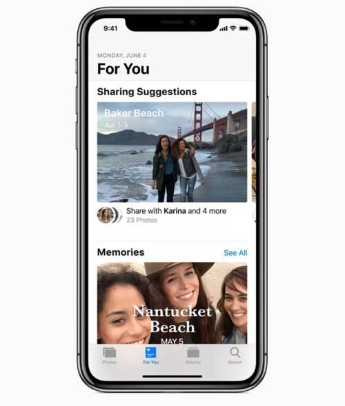 iOS 12 cải thiện google photos