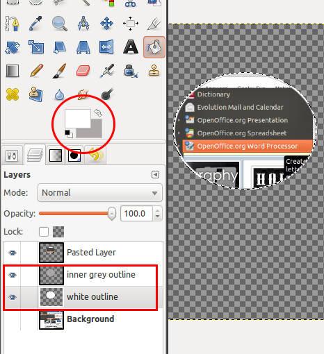 Bucket Fill trong GIMP