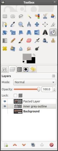 Toolbox của GIMP