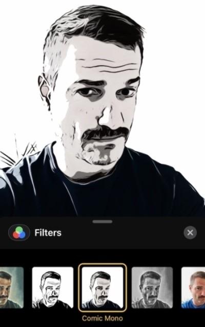 Bộ lọc của FaceTime