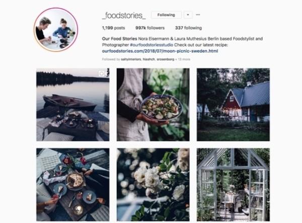 Có gu thẩm mỹ riêng để tạo ấn tượng trên Instagram