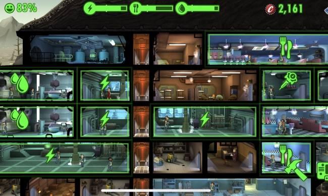 Bài trí không gian ở nơi cư trú trong Fallout Shelter