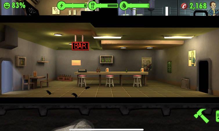 Tính năng Rush trong Fallout Shelter