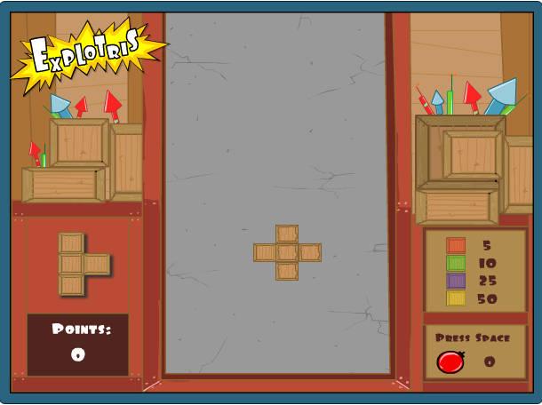 Game xếp hình Explotris