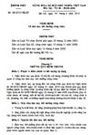 Nghị định số 18/2010/NĐ-CP