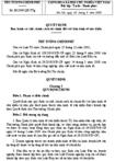 Quyết định số 33/2009/QĐ-TTG