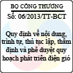 Thông tư 06/2013/TT-BCT