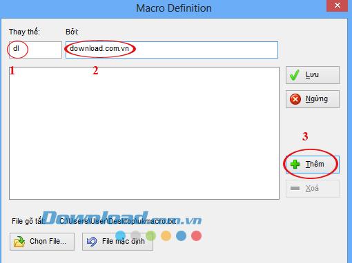 Cách sử dụng tính năng gõ tắt trên Unikey