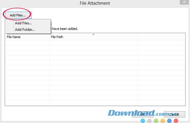 Cách đính kèm tập tin vào file PDF bằng Foxit Reader