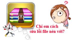 Cách khôi phục dữ liệu trong file nén bị hỏng bằng WinRAR
