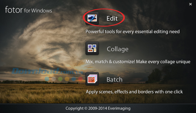 Cài đặt và sử dụng Fotor chỉnh sửa ảnh miễn phí