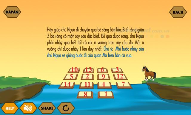 Đáp án game Qua sông IQ mới nhất từ câu 14-16