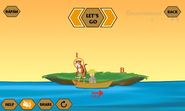 Đáp án game Qua sông IQ mới nhất từ câu 17-21
