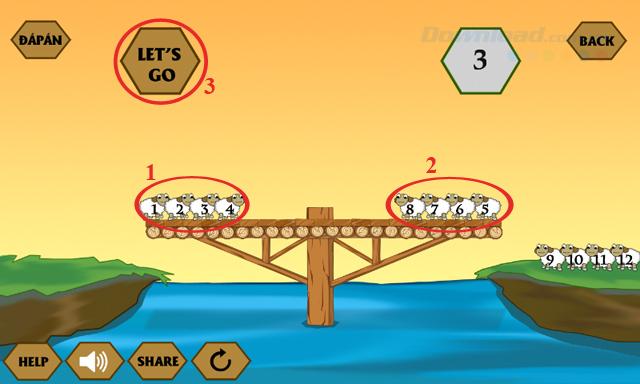 Đáp án game Qua sông IQ mới nhất từ câu 10-13