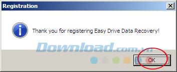 [Miễn phí] Bản quyền phần mềm Easy Drive Data Recovery