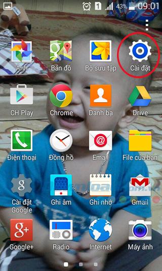 Sao lưu và đồng bộ danh bạ trên điện thoại Android