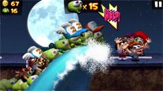 Cách dùng 10 bổ trợ trong game Zombie Tsunami