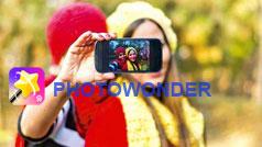 Hướng dẫn sử dụng PhotoWonder trên di động