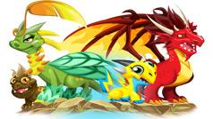 Đặc điểm của các loại rồng trong Dragon City
