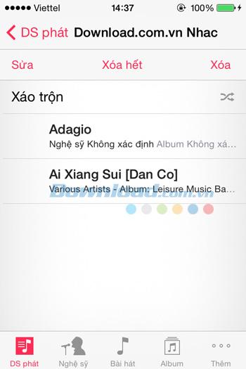 Hướng dẫn xóa nhạc trên iPhone bằng iTunes