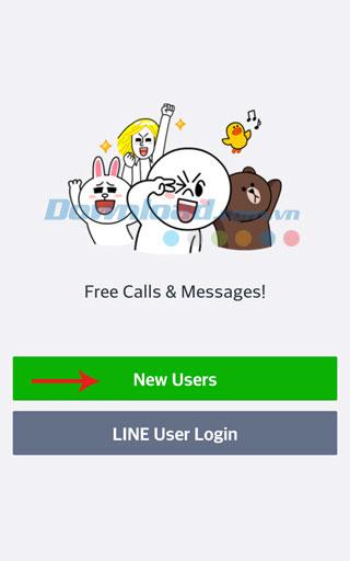 Cách tạo tài khoản LINE