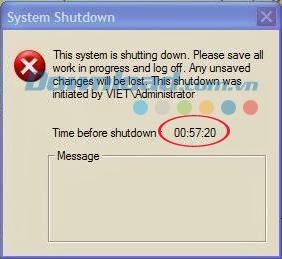 Cách hẹn giờ tắt máy tính tự động