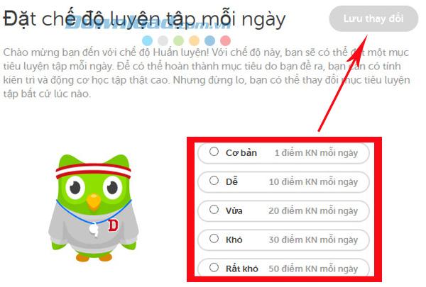 Học ngoại ngữ miễn phí với Duolingo
