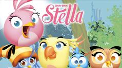 Các thành viên của biệt đội Angry Birds Stella