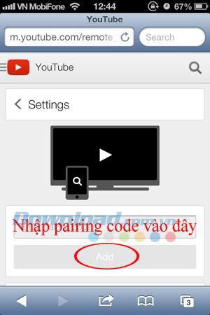 Cách dùng điện thoại điều khiển Youtube trên máy tính
