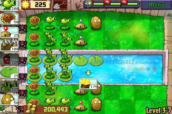 Bí quyết vượt qua tất cả level trong game Plants vs. Zombies