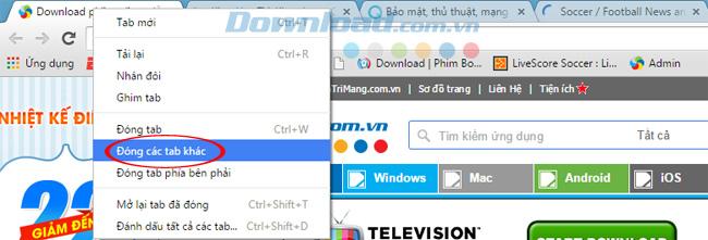Hướng dẫn sử dụng chuột phải trên trình duyệt Chrome