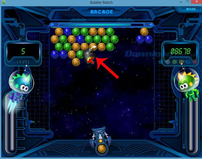 Hướng dẫn chơi Arcade trong Bubble Match hiệu quả nhất