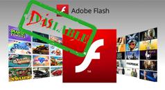 Cách vô hiệu hóa, gỡ bỏ Flash trên các trình duyệt