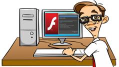 Hướng dẫn cài đặt Flash Player trên máy tính