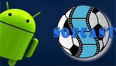 Cách xem bóng đá trên Sopcast Android