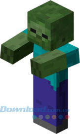Zombie trong game Minecraft