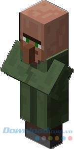 Dân làng trong game Minecraft