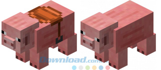 Lợn trong game Minecraft