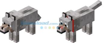 Chó sói trong game Minecraft
