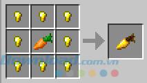 Công thức chế tạo cà rốt vàng