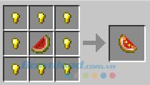 Công thức chế tạo dưa hấu vàng