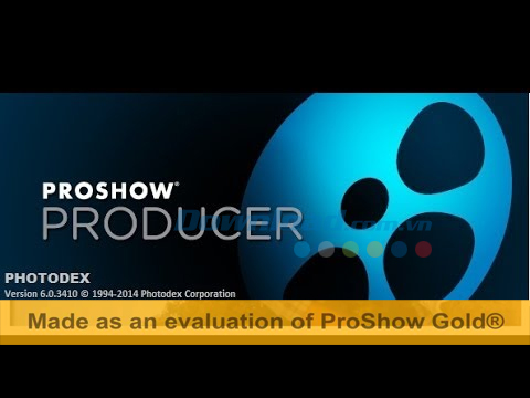 Error in yellow letters on proshow producer