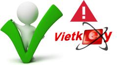 Cách khắc phục một số lỗi khi sử dụng Vietkey