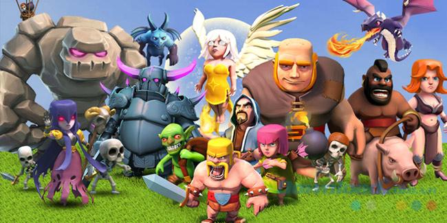 Các loại quân trong game Clash of Clans