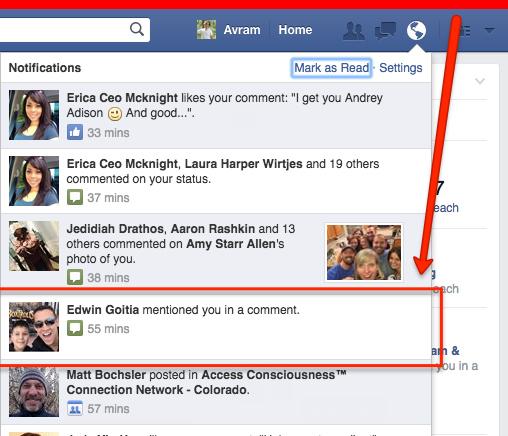 Thông báo giả trên Facebook