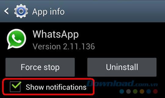 thông báo trên android