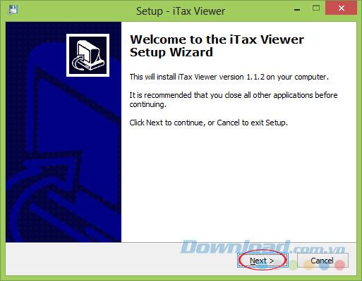 Cài đặt iTaxViewer