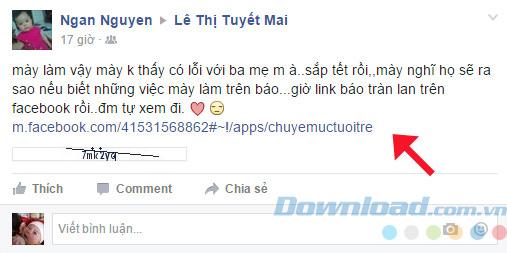 Facebook dính virus phát tán đường link tới bạn bè